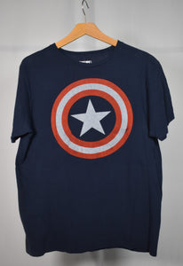 Large Captain America Tee