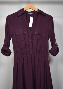 Small Sophisticated Dress in Violet