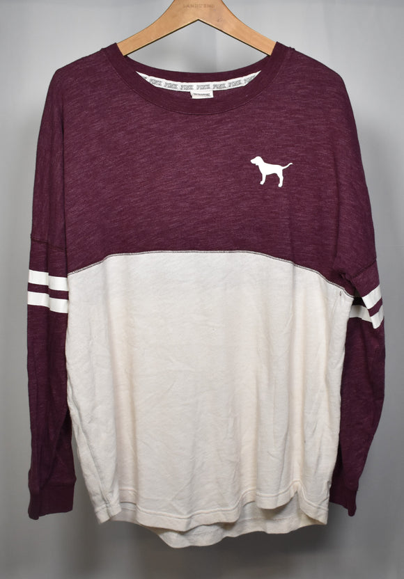 Large Color Block Long Sleeve