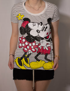 Medium Mickey and Minnie Tee