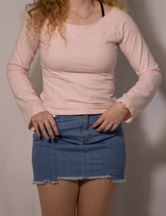 Pink Long-Sleeve Tee