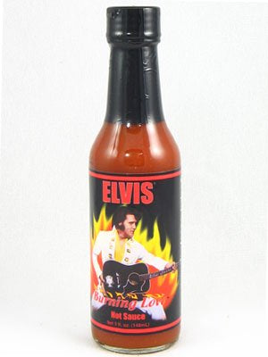 Hot Sauce Elvis Burning Love