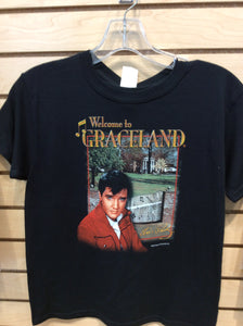 Kids T-shirt Elvis Welcome To Graceland