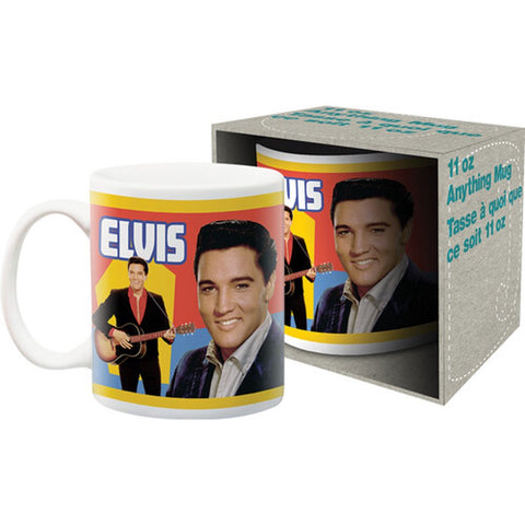 Mug Elvis Retro Young