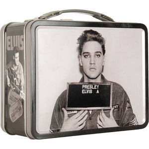 Elvis Presley Enlistment Photo Lunch box