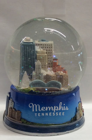 SnowGlobe Memphis Skyline(Medium)