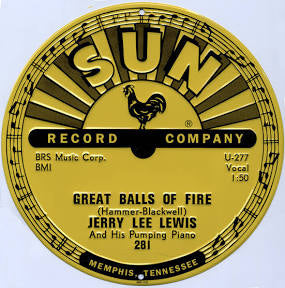 Sign Sun Records Jerry Lee Lewis