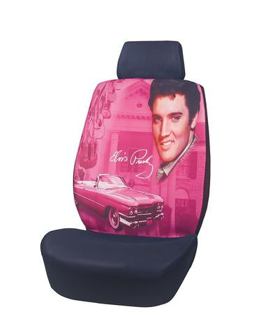 Car Seat Cover Elvis Pink Guitar
