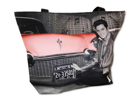 Tote Bag Elvis with Car