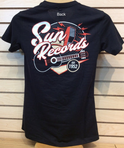 T-Shirt Sun Records Ladies Cut (Sun Night Hop Tee) NEW