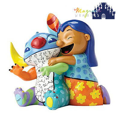Disney by Britto Lilo and Stitch Stone Resin Figurine