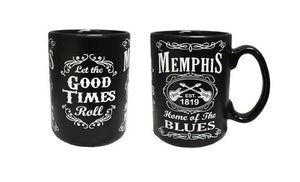 Mug Memphis Black and White Home of the Blues