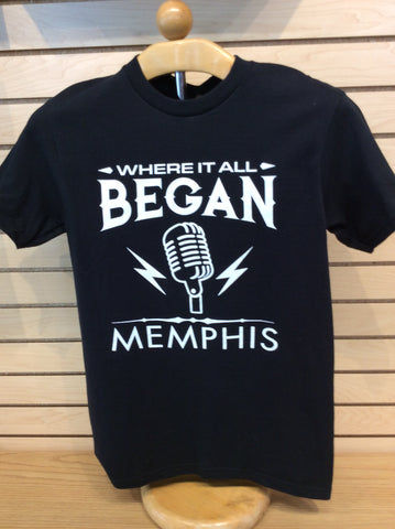 T-Shirt Memphis Where it all Began
