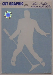 Decal Elvis Silhouette