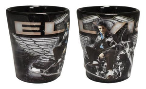 Shot Glass Elvis Motorcycle