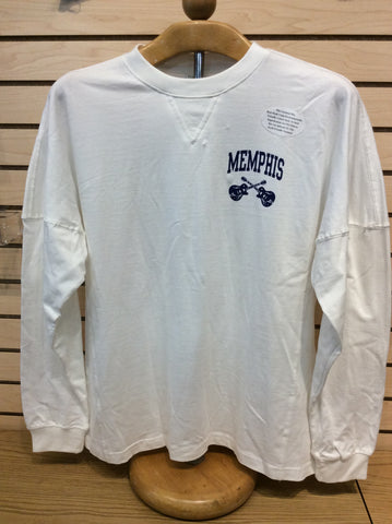 Long Sleeve Memphis Bubble Letters On Back