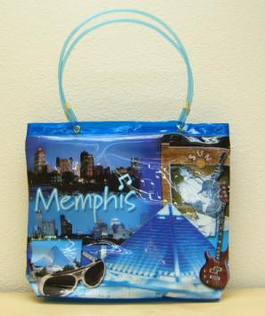 Tote Bag Memphis Collage