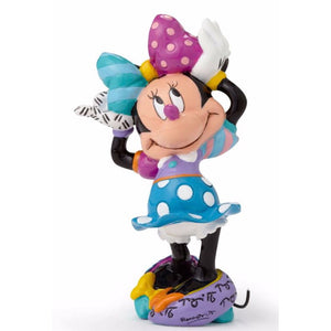 Romero Britto Disney Minnie Mouse Standing Pop Art Miniature Figurine
