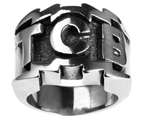 Ring TCB Men's Stainless Steel