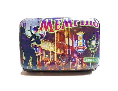 Credit Card Case Memphis  Beale Street