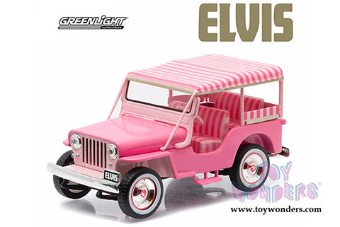 Car Elvis Pink 1960 Jeep