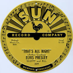 Sign Sun Records Elvis