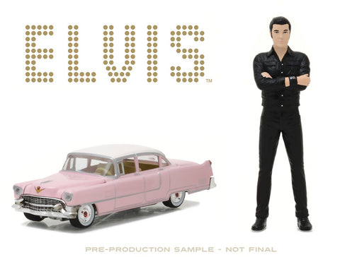 Car Elvis Pink Cadillac Fleetwood with Elvis Presley Figure Buy 1 Get 1 FREE SALE