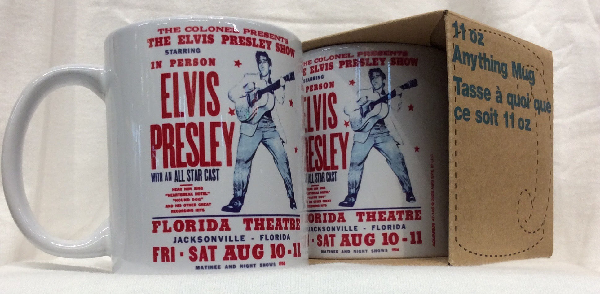 Mug Elvis In Person