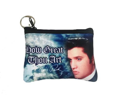 Coin Purse Elvis How Great Thou Art