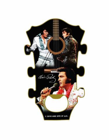 Bottle Opener Magnet Elvis Guitar Neck