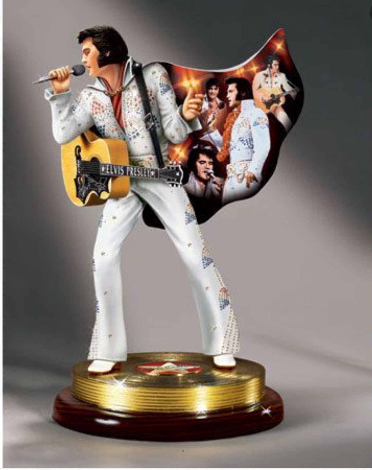 "Figurine Elvis The Sensation Legendary Performer ""Musical"""