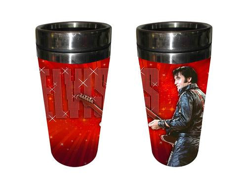 Travel Mug Elvis '68 Red