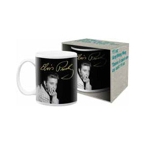 Mug Elvis Signature Chin On Hand