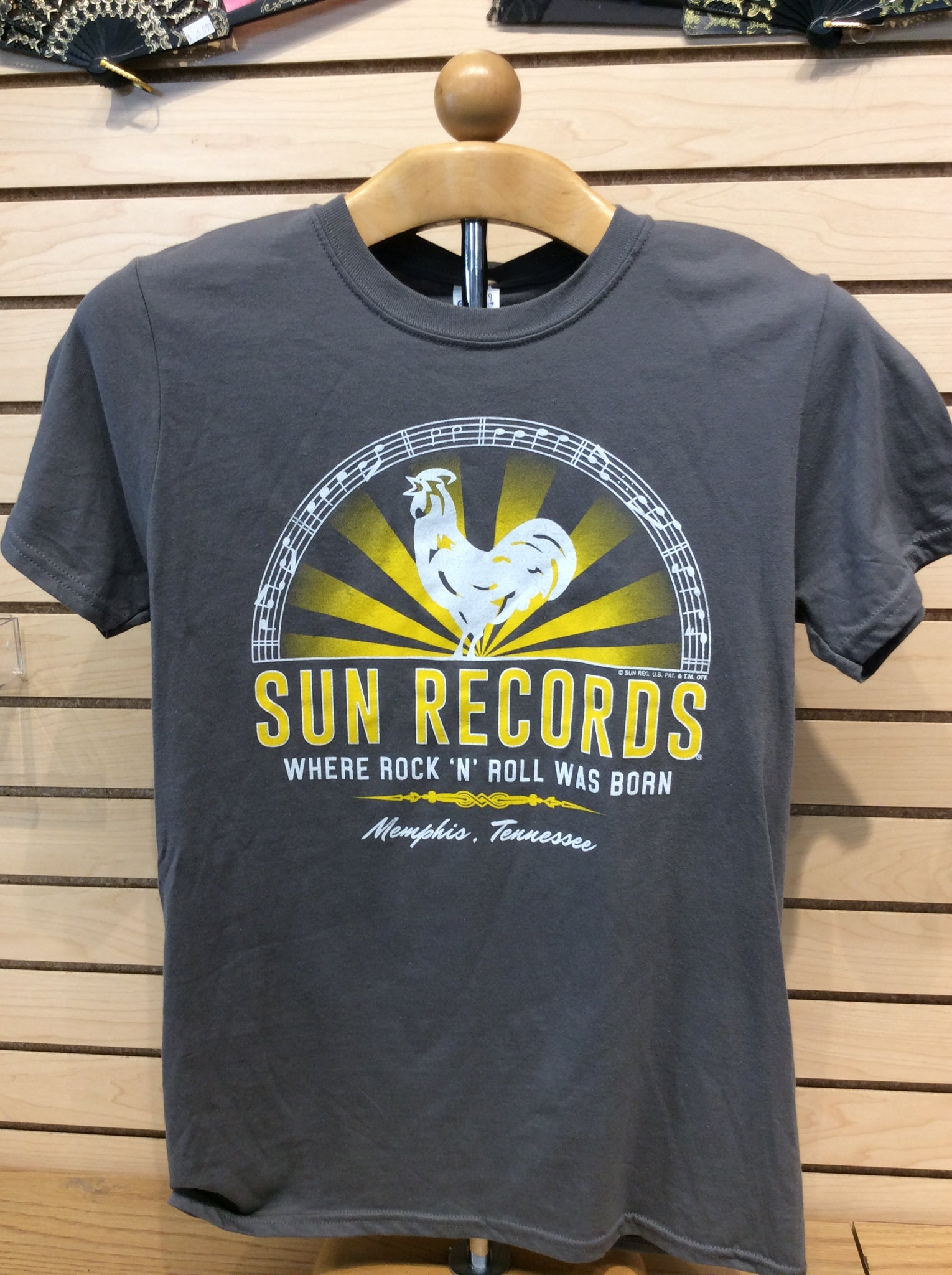 T-Shirt Sun Records/Rooster R-N-R Was Born