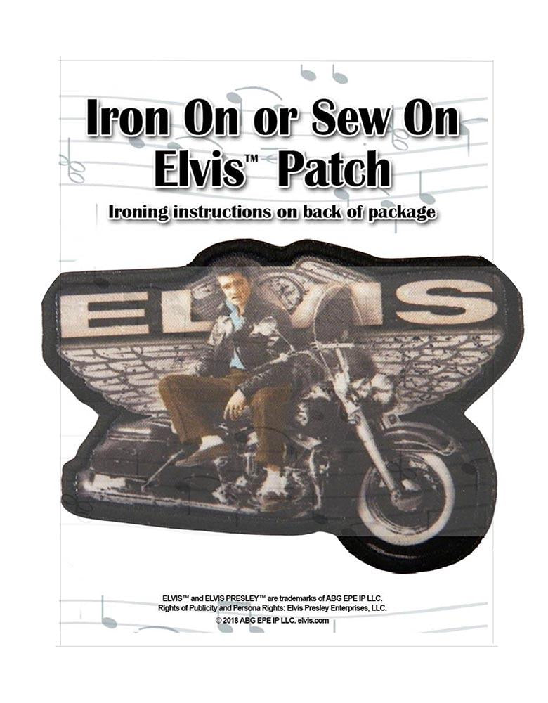 Patch Elvis Motorcycle