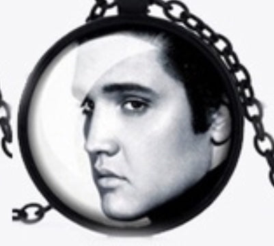 Necklace Elvis Face