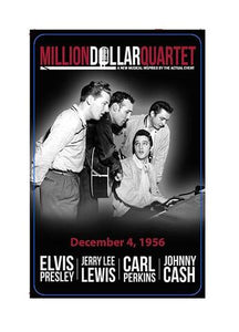 Playing Cards Million Dollar Quartet