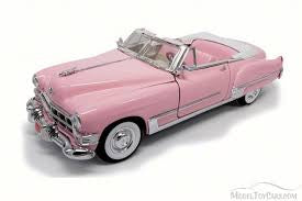 Car Elvis Pink Cadillac Convertible 1949