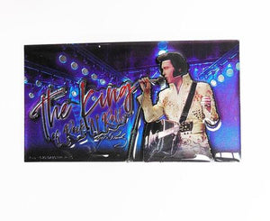 "Elvis Magnet The King ""Blue"" w/White Jump 3D Laser New"