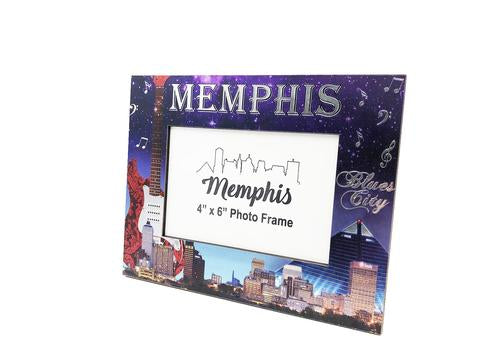 Photo Frame Memphis Skyline Foil