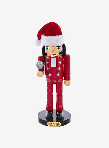 Elvis Presley 11-Inch Elvis Burning Love Suit Nutcracker