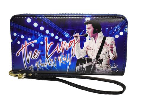 Wallet Elvis The King Blue