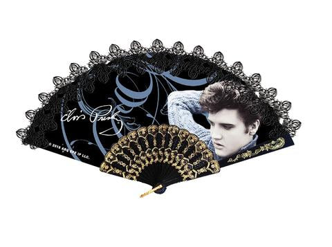 Hand Fan Elvis Blue Sweater