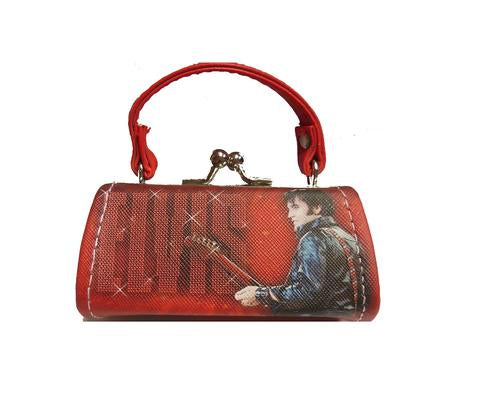 Mini Purse Elvis 68 Name red