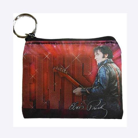 Coin Purse Elvis Red '68