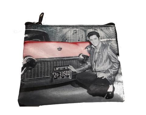Coin purse Elvis In Front Car