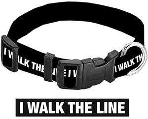 Dog Collar Johnny Cash Walk The Line