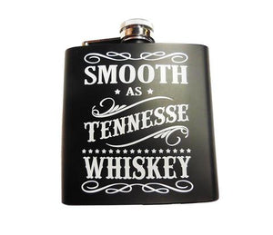 Tennessee Flask Smooth As TN Whiskey - 5 OZ -