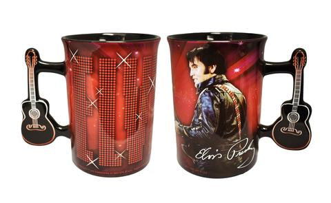 Mug Elvis Red 68' Name in Lights