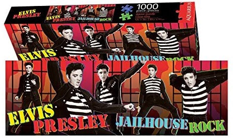 Elvis Jailhouse Rock Slim Jigsaw Puzzle (1000-Piece)